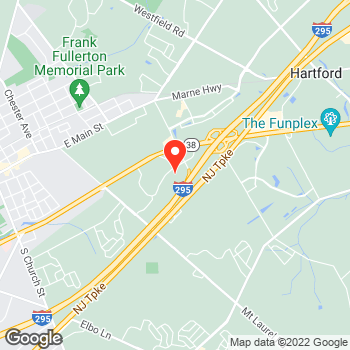 Map of Canon Solutions America at 8000 Midlantic Drive, Mount Laurel, NJ 08054