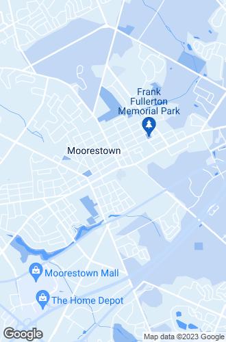 Map of Moorestown