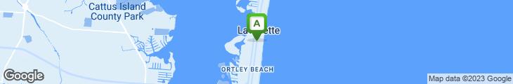 Map of Lavallette Pizzeria