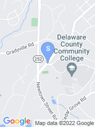 Delaware County Community College map