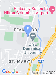 Ohio Dominican University map