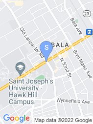 Saint Josephs University map