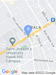 St Josephs University map
