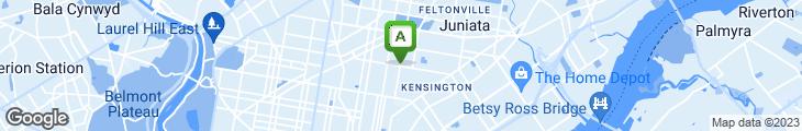 Map of New Quality Restaurant (fka Bar-B-Q Hut)