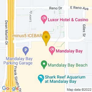 Map to House of Blues - Mandalay Bay provided by Google