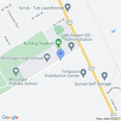 397-501 Bluebonnet Pkwy, McGregor, TX 76657, USA