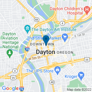 Google Map of 40 N Main St Ste 2000 Dayton, OH 45423-1002