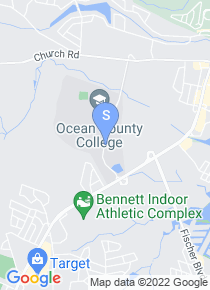 Ocean County College map