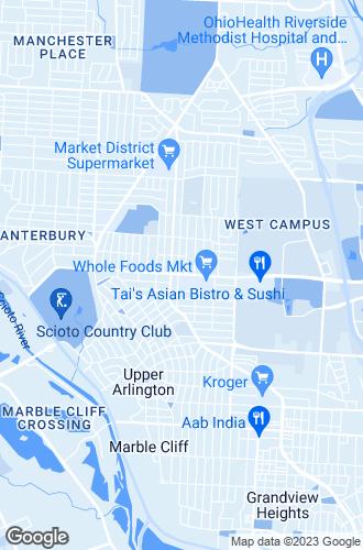 Map of Upper Arlington