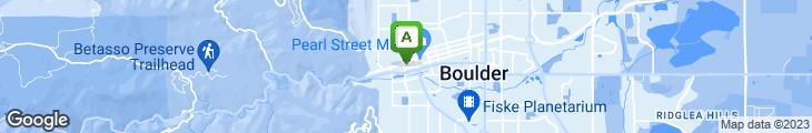 Map of Boulder ChopHouse & Tavern