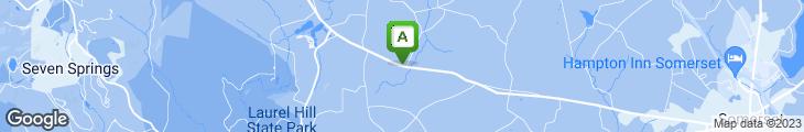 Map of Oakhurst Tea Room Inc