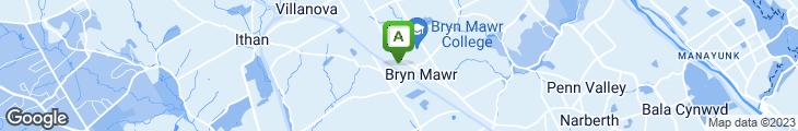 Map of Blush Restaurant & Bar