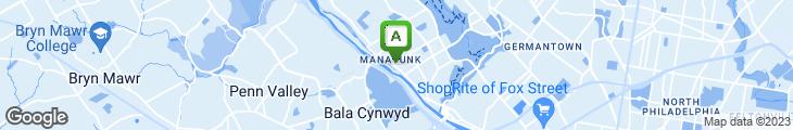Map of Bayou