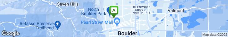 Map of Moe's Broadway Bagel