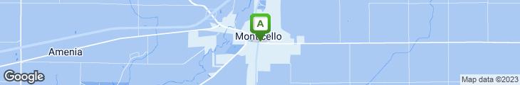 Map of Montgomery's