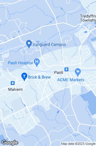 Map of Paoli