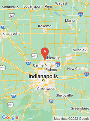 NEW HOMES map in Westfield, Indiana, USA