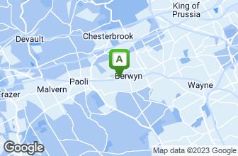 Map of Berwyn Pizza