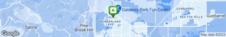 Map of Restaurant 4580