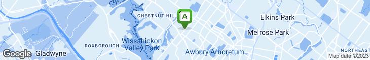 Map of Mt. Airy Deli