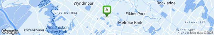 Map of Maple Tree Restaurant