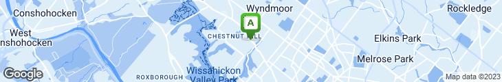 Map of McDonald's