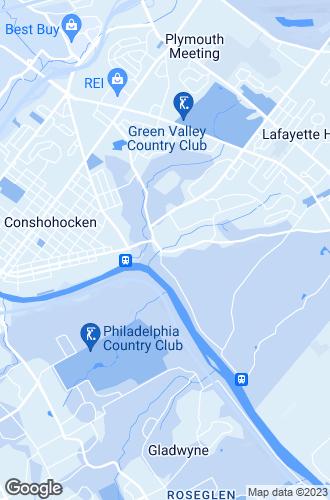 Map of Conshohocken