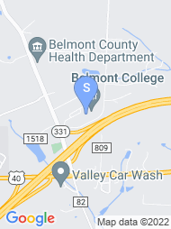 Belmont Technical College map