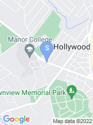Manor College map