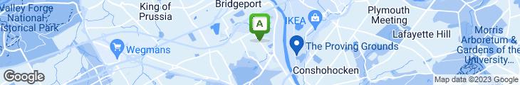 Map of Gateway Cafe II