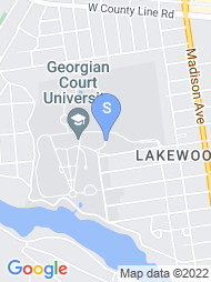Georgian Court University map