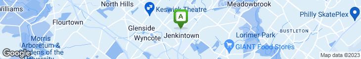 Map of Olde Philadelphia Sanwich Shop