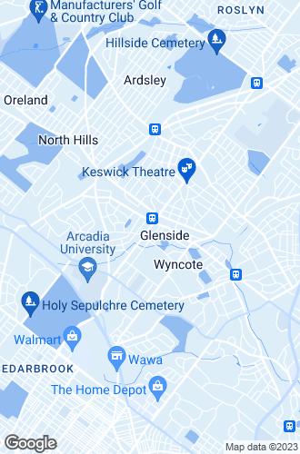 Map of Glenside