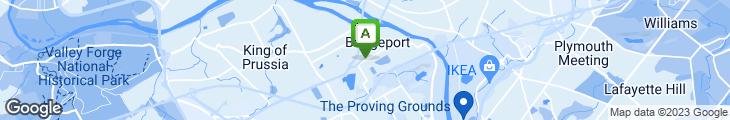 Map of Bridgeport Rib House