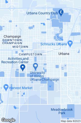Map of Urbana