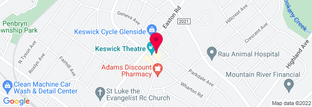 Map for Keswick Theatre