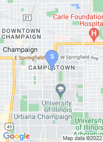 University of Illinois map