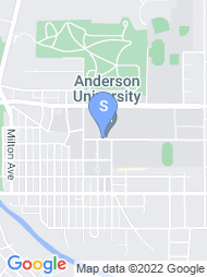 Anderson University map