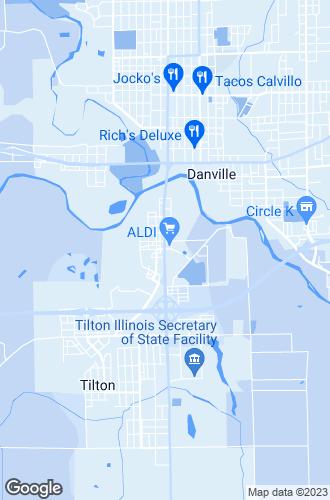 Map of Danville