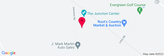 Map for Junction Center