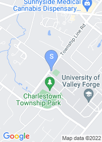 Valley Forge Christian College map