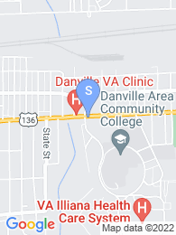 Danville Area Community College map