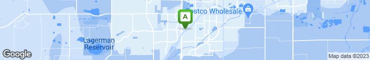 Map of IHOP