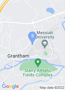 Messiah College map