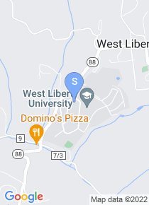 West Liberty University map