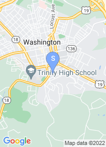 Washington and Jefferson College map