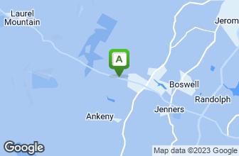 Map of Green Gables Restaurant