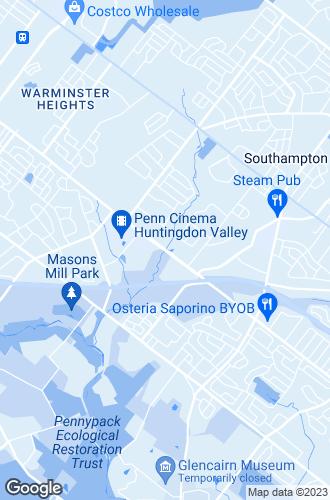 Map of Huntingdon Valley