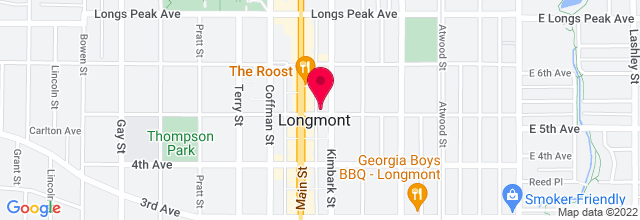 Map for Larry's Guitar Shop