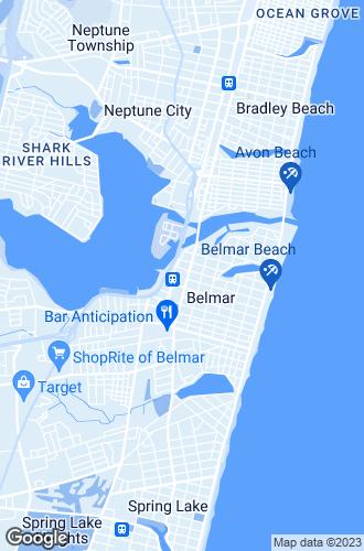 Map of Belmar